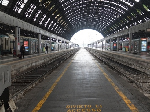 railway station milan train
