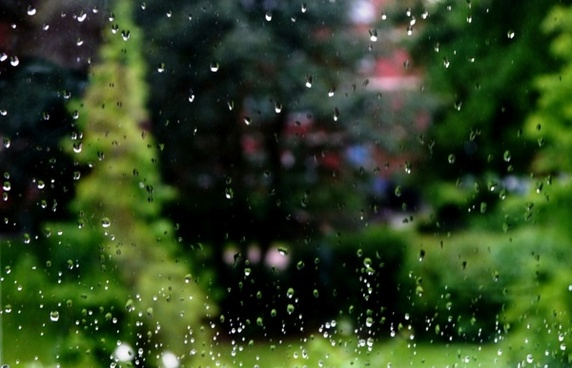 rain drip window