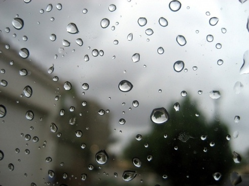 rain on window 2