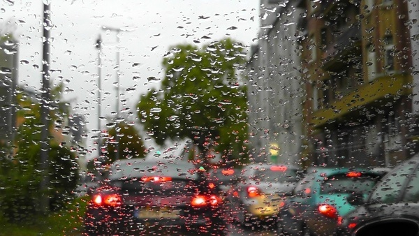 rain raindrop traffic
