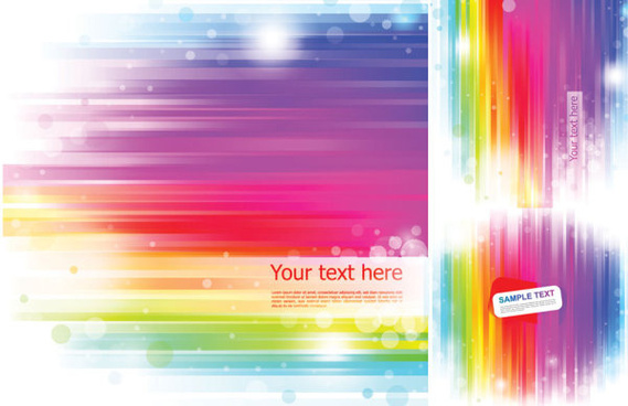rainbow background vector art