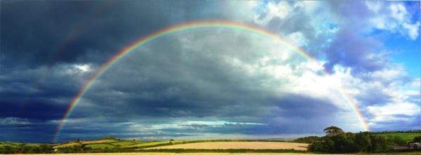 rainbow beautiful devon