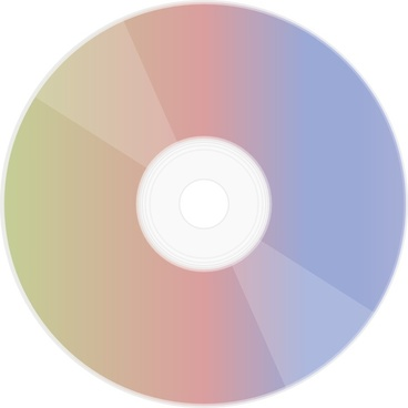 Rainbow Disc clip art