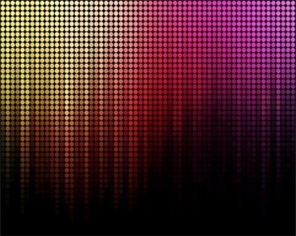 rainbow light shiny background vector