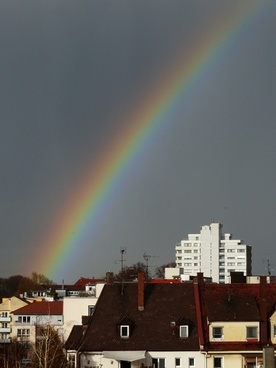rainbow weather phenomenon sky