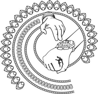 rakshabandhan concept hand with rakhi