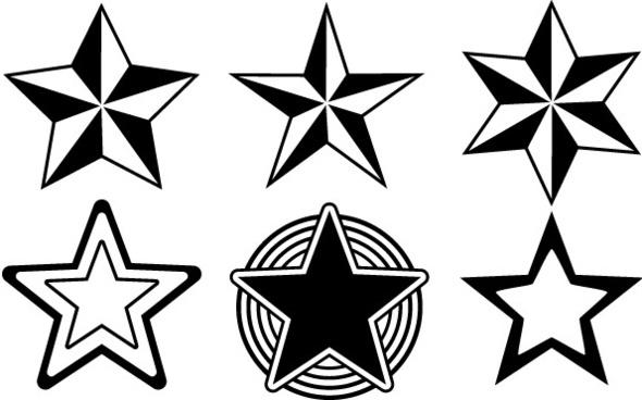 Random Free Vectors � Part 13 Stars