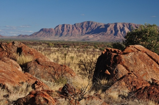 ranges central australia dry country