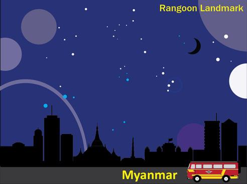 rangoon landmark