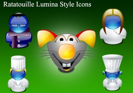 Ratatouille Lumina Style Icons icons pack