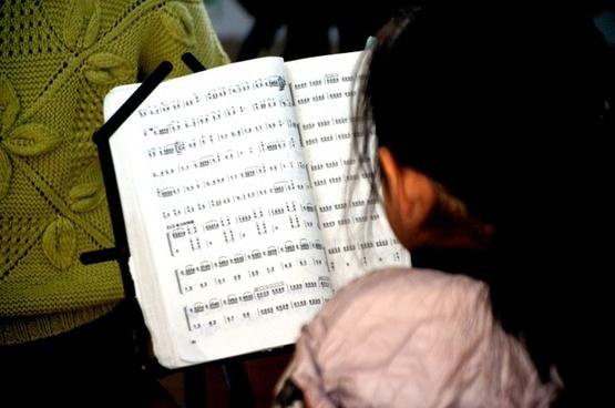 reading music