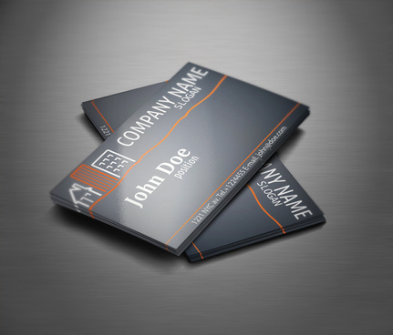real estate business card free template