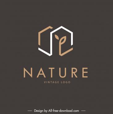 real estate logotype dark flat house shape