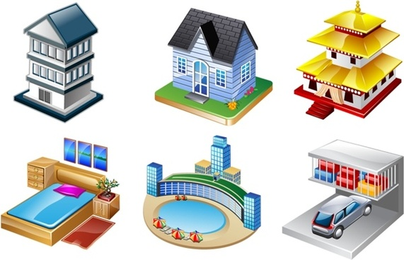 Real Vista Real estate icons pack