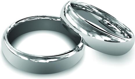 realistic rings creative design vector set