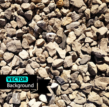 realistic stones background graphics vector