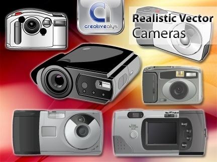 Realistic Vector Cameras