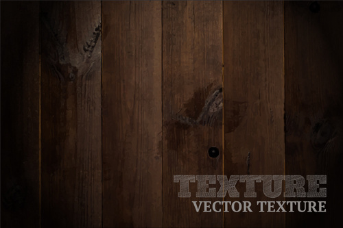 realistic wood texture art background vector