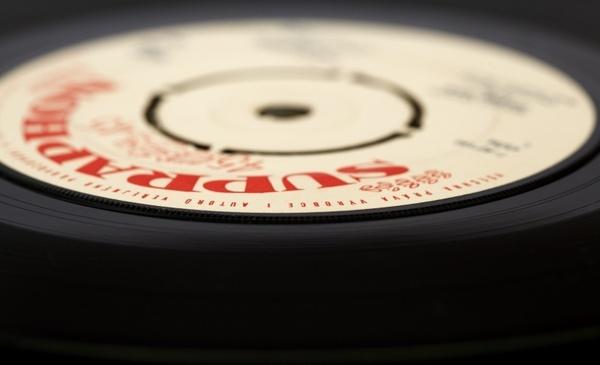 records audio background