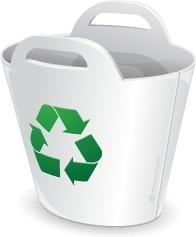 Recycler bin