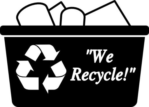 Recycling Box clip art