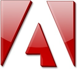 Red adobe logo