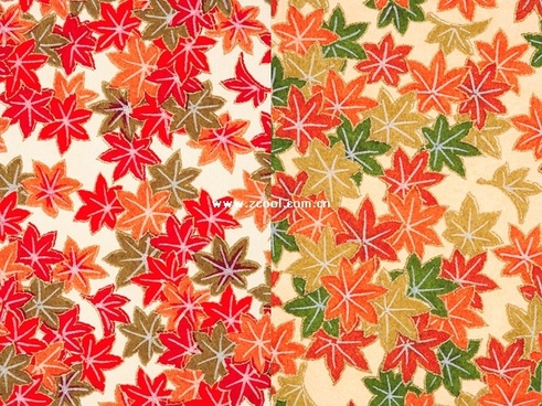red and green maple leaf wallpaper background of highdefinition picture 2p