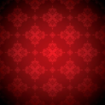 red background pattern vector 2