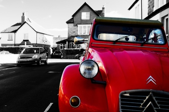 red car color
