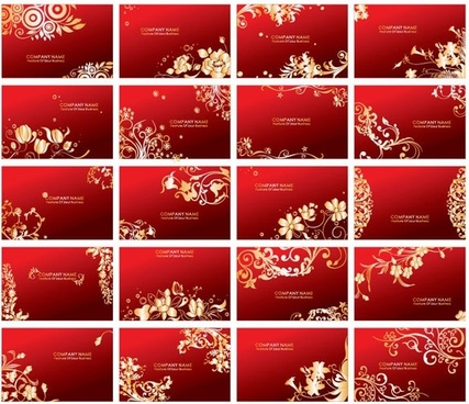 red card pattern vector