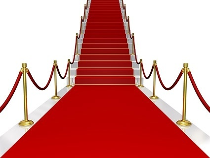 red carpet the stairs fine picture