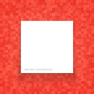 red checkerboard background with copy space