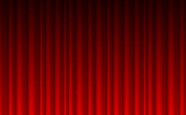 curtain background classical red corrugated decor