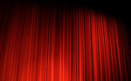 red curtain picture 2