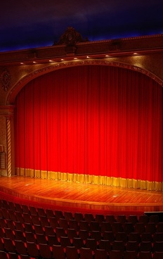 red curtain picture 4