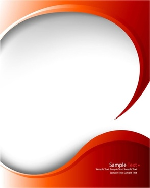 red delicate pattern background 03 vector