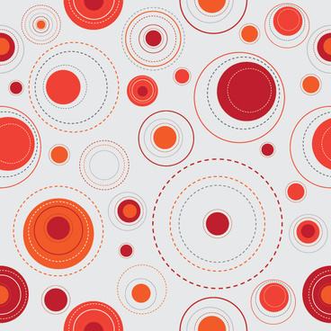 red dots background vector