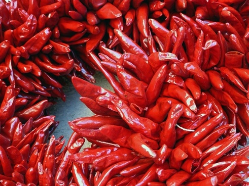 red dried hot