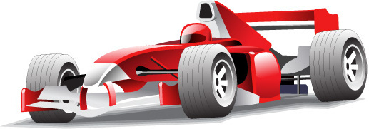 red f1 racing vector graphics