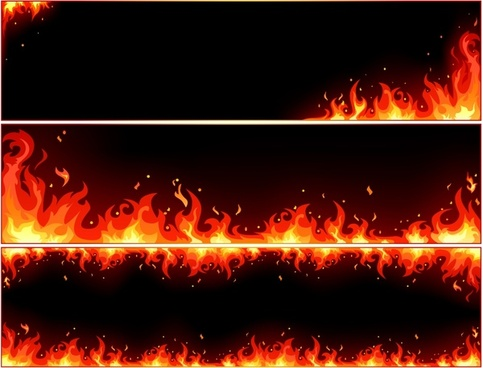 red flame background templates dark motion decor