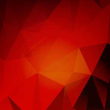 red geometry abstract background