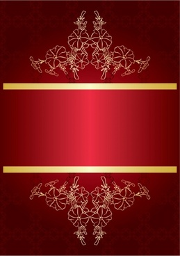 red gorgeous background 02 vector