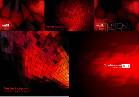 red luxury pattern background