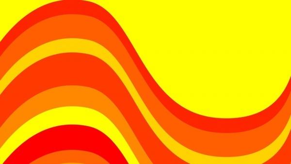 red orange yellow