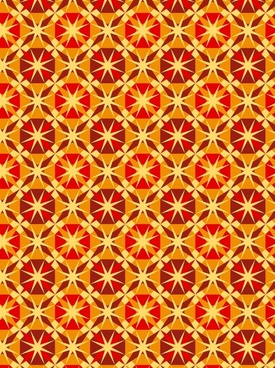 red passion background pattern vector