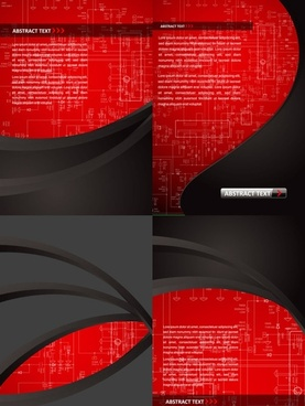 red plate background vector