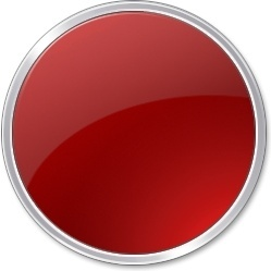 Red round button