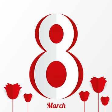 red style 8 march design elements