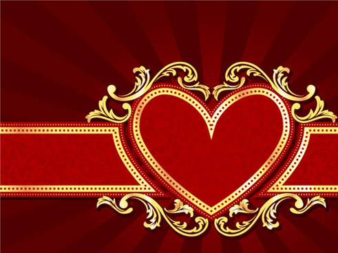 red style holiday background vector
