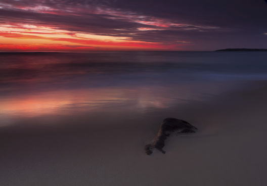red sunrise cronulla